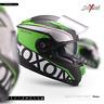 SOXON ST-1000 RACE GREEN INTEGRAL-HELM ― MOTORRAD-HELM FULL-FACE ROLLER ― XS–XXL