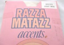 Razza Matazz Accents images Ivory Mids Vintage 1970's.
