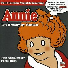Annie: The Broadway Musical 30th Anniver - Various Ar (2008, CD NIEUW)2 DISC SET