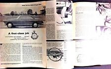 PEUGEOT 404C -1965 - Road Test from The MOTOR magazine
