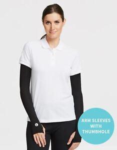 Solbari Sun Protection UPF50+ Women's Cooling Arm Sleeves UV Protective CoolaSun