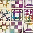 Batik Quilting Squares Cream B/G-#5201-Batik Textiles-BTY