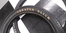 Used Huffy Rail Slingshot RWL XKE Slick Muscle Bike Bicycle Tire Set *see descri