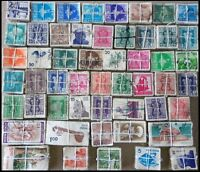 INDIA Used Kiloware Off Paper 5000 Stamps (50 x 100 each) New & Old Series