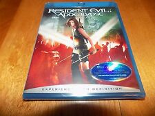 RESIDENT EVIL Apocalypse Milla Jovovich Sienna Guillory Blu-ray Disc SEALED NEW