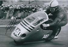 John Surtees SIGNED Autograph 12x8 Photo Racing Legend AFTAL COA @ Goodwood 2011