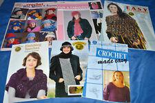 Lot of Various Crochet Patterns