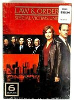 Law & Order Special Victims Unit SVU Year 6 Brand New Sealed