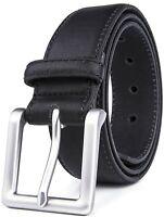 Bonded Leather Belts For Men Classy Dress Belts Mens Belt Many Colors & Sizes