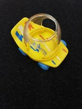 Fisher Price Vintage 1987 Smooshees Skateboard Skating Miniature Accessory