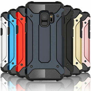 Shockproof Hard Armour Case For Samsung Galaxy A10,A40,A51,A41,S10,S9,S20 A40 S8