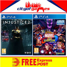 Injustice 2 & Marvel vs. Capcom Infinite PS4 Game New & Sealed Free Express Post