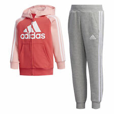 adidas Kinder Trainingsanzug FRENCH TERRY Jogginganzug Fitnessanzug Sportanzug
