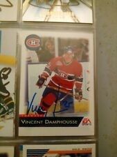 1993-94 EA Sports Vincent Damphousse 70 Auto Autographed Signed Card