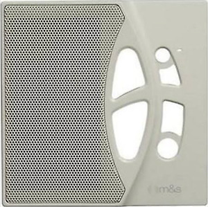 NEW M&S System Linear DMC-10RFA Room Station Faceplate Cover Plate Almond 10RS