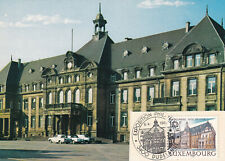 (36700) Luxembourg Postcard Cover Philatelic Exhibition Dudelange 1988(?)