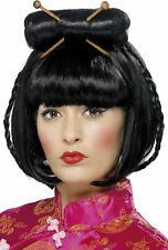 Wig Woman Oriental from Geisha Carnival Accessories Ps 24857