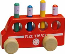 Original Toy Company Solid Hardwood Pop-Up Fire T