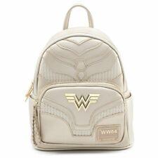Loungefly x DC Comics Wonder Woman Metallic Cosplay Mini Backpack