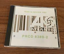 Atlantic Records Year In Review 1997 Promo Cd Aaliyah Matchbox 20 Sugar Ray
