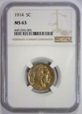 1914 Buffalo Nickel NGC MS63