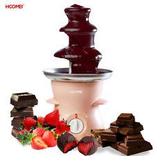 Fontana Cioccolato Fuso 30w 500ml 3 piani fonduta Cioccolatiera Hoomei