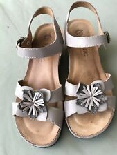 Vionic Orthaheel Gibraltar Wedge Taupe size EU40 UK7 US9 HALF PRICE