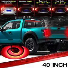 40 INCH Roofline LED Third Brake Light Strip Car Above Rear Windshield Red Bar