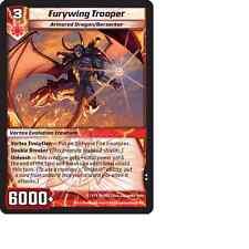 Kaijudo X3 FURYWING TROOPER Uncommon #99/160 15VTX (Playset) Vortex DUEL MASTERS