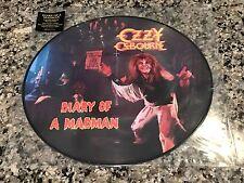 Ozzy Osborne Picture Disc! Limited. Black Sabbath Metallica Megadeth AC/DC