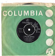 "Shirley Bassey - I Who Have Nothing 7"" Single 1963"