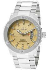 CROTON MEN'S AQUAMATIC AUTOMATIC STAINLESS STEEL MENS WATCH $425.00 RETAIL