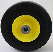 "9x3.50-4 CareFree Foam Deck Wheel Tire 3/4"" Roller Bearing John Deere AM11510"