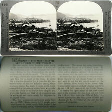 Keystone Stereoview of HAMMERFEST, NORWAY From The Popular 600/1200 Card Set