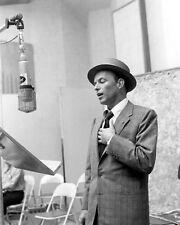 American Singer FRANK SINATRA Glossy 8x10 Photo Film Actor Print Music