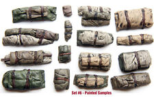 1/35 Universal Tents & Tarps Set #6 - Value Gear Details - 16pcs Resin Stowage