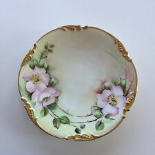 JPL France PATD Jan 23rd 1906 Jean Pouyat Limoges Porcelain Plate Shells & Gold