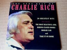 CHARLIE RICH; THE VERY BEST OF CHARLIE RICH - 20 HITS. BRILLIANT. LOVELY TRACKS.