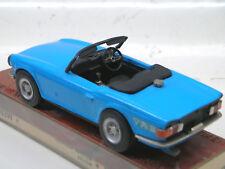 AUTO REPLICAS LIMITADA 1/43 TRIUMPH TR6 1961 AZUL KIT  MADE ENGLAND