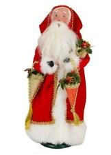 Byers' Choice Father Christmas With Candy Containers Caroler Figurine #3183 From