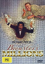 Brewsters Millions - Adventure / Comedy - Richard Pryor, John Candy - NEW DVD
