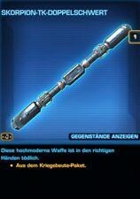 SWTOR - Waffe - Scorpion-TK-Doppelschwert - Tulak Hord - Credits