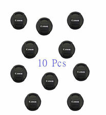10x 58MM Front lens cap Center-pinch leash for Canon EOS