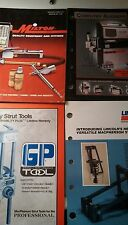 Vintage front end and shop tool literature lot Milton,FMC,Power steering,Kwik wa