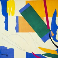 Henri Matisse Memory Of Oceania Giclee Canvas Print Poster Reproduction