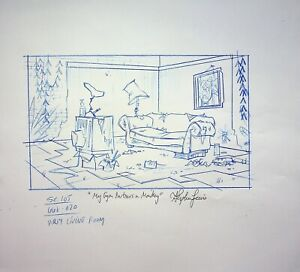 The Life & Times of Juniper Lee SIGNED STEPHEN LEWIS Prod Copy Background  #SL