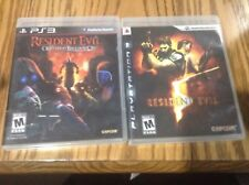 Resident Evil & Resident Evil: Operation Raccoon City PS 3 lot of 2 games