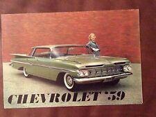 1959 Chevy Sales Brochure