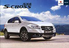 Suzuki SX4 S-Cross 03 / 2016 brochure catalogue