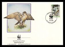 Iceland 1992 FDC, Gyrfalcon. 10kr. WWF. Nature. Maxi Card. Lot # 1.